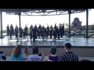 Let it Go Performance at Downtown Disney