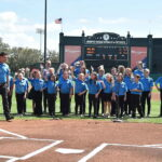 Show Chorus Performed for the Atlanta Braves
